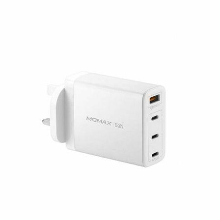 MOMAX - Momax 4-Port 3XUSB C 1X USB A 108W Gan White Wall Charger