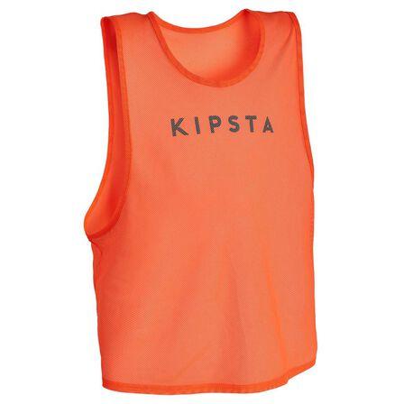 KIPSTA - Adult Bib - Fluo Blood Orange