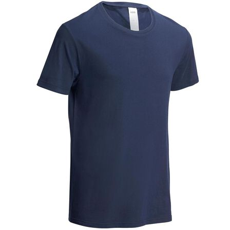 NYAMBA - M Fitness Pure Cotton T-Shirt Sportee - Navy Blue