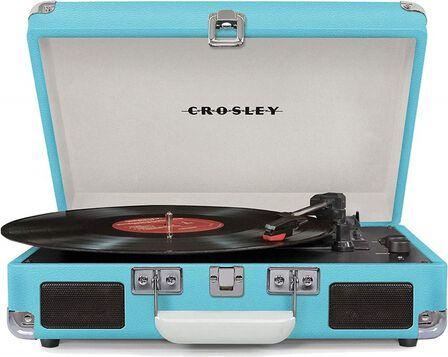 CROSLEY - Crosley Cruiser Deluxe Turntable Turquoise