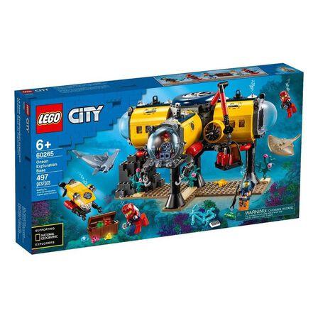 LEGO - LEGO City Oceans Ocean Exploration Base 60265