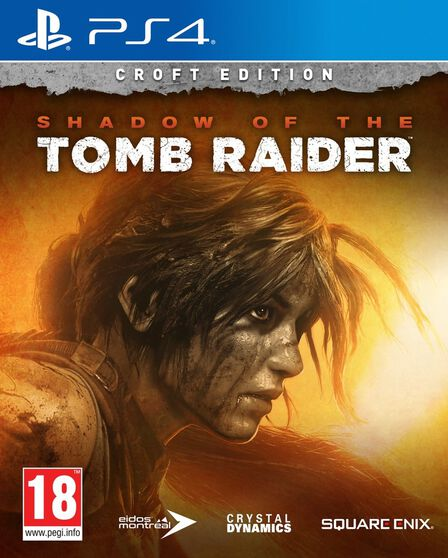 SQUARE ENIX - Shadow of the Tomb Raider - Croft Edition - PS4