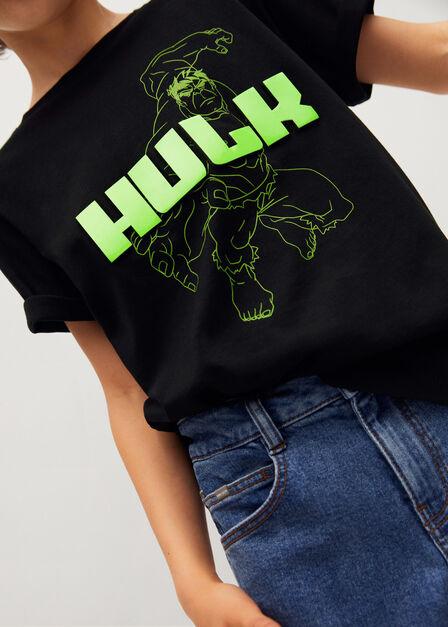 Mango - black Hulk cotton t-shirt