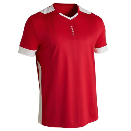 KIPSTA - Extra Large  F500 Adult Football Shirt, Scarlet Red