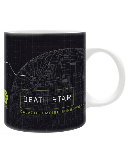 ABYSTYLE - Abystyle Star Wars Mug Rogue One/Deathstar 320ml