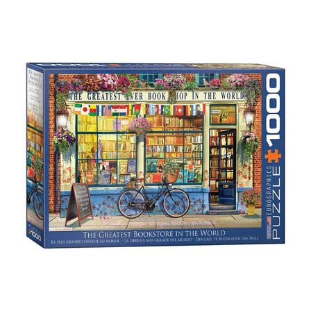 EUROGRAPHICS - Eurographics The Greatest Bookstore In The World 1000 Pcs Jigsaw Puzzle