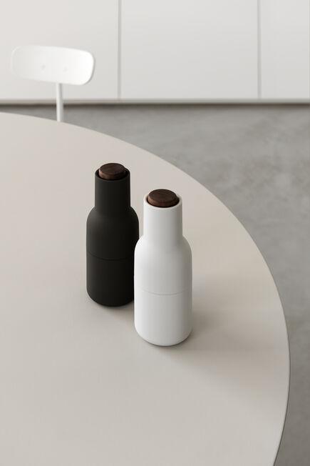 Menu - Bottle Grinder, 2 Piece Ash/Carbon