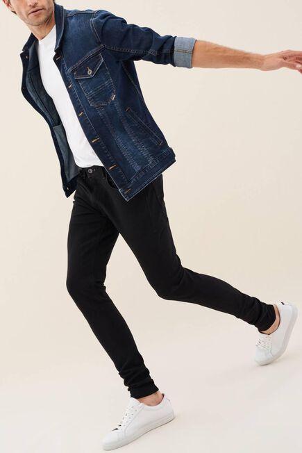 Salsa Jeans - Black Kurt super skinny dark jeans