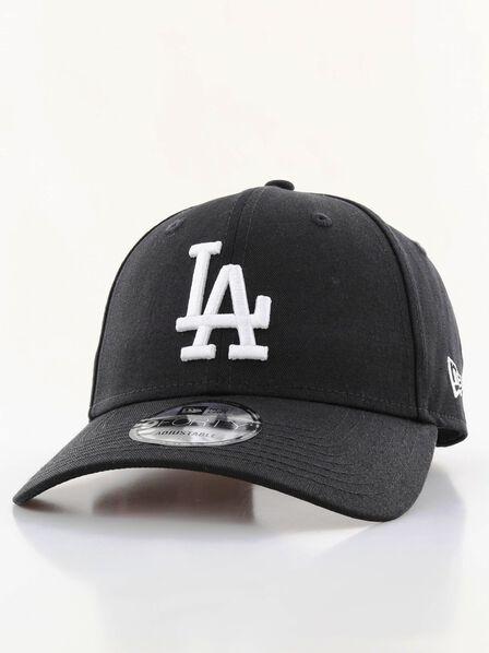 NEW ERA - New Era League Essential LA Dodgers Cap Black/White