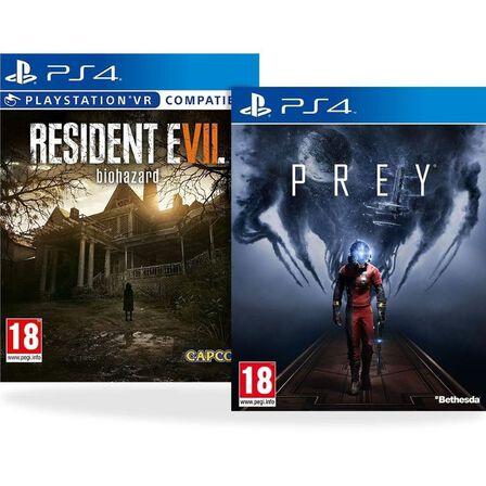 ASSORTED GAMES/BUNDLES - Prey + Resident Evil 7 [Bundle] - PS4
