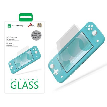 AMAZING THING - Amazing Thing 0.3 mm Supreme Glass Crystal For Nintendo Switch Lite [2 pcs]