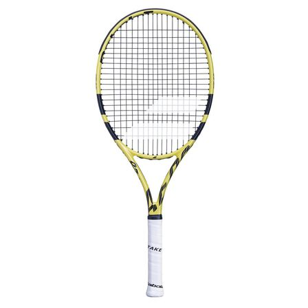 BABOLAT - Grip 0 Aero Junior 26 Tennis Racket - Black / Yellow