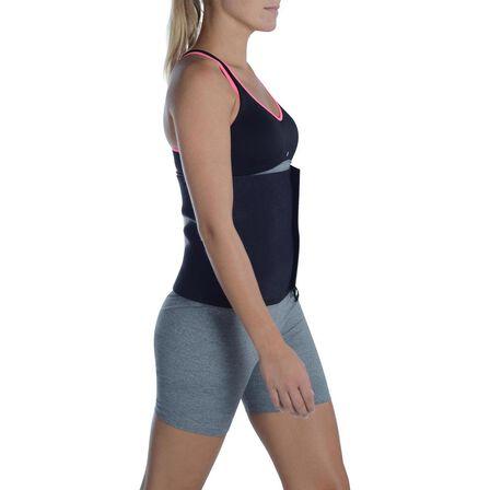 DOMYOS - Cardio Fitness Sauna Belt - Black