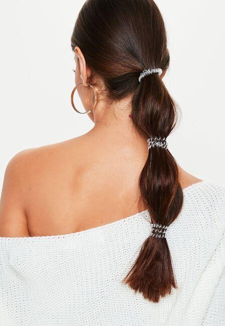 Missguided - Chrome Invisibobble Slim Hair Tie