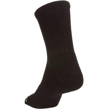 ARTENGO - Rs 500 high-rise sports socks tri-pack - black