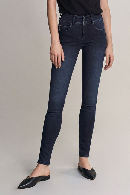 Salsa Jeans - Blue Secret push in skinny jeans in dark denim