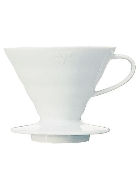 HARIO - Hario Coffee Dripper White Ceramic [Makes 4 Cups]