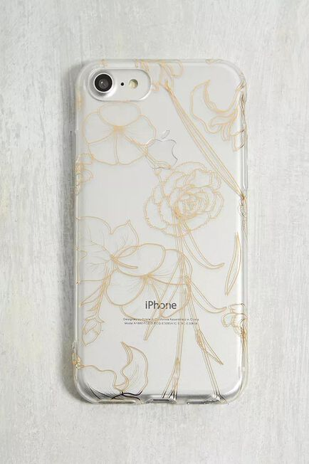 Urban Outfitters - Assorted Foiled Floral IPhone 6/6S/7/8 Case
