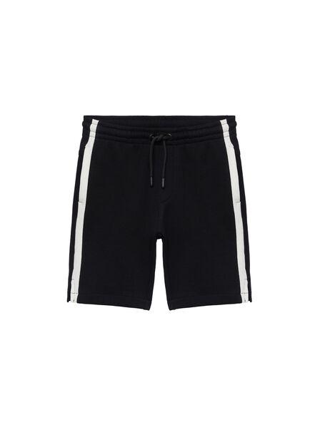 Mango - black Jogger cotton Bermuda shorts, Kids Boy