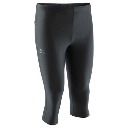 KALENJI - Run dry men's running cropped pants black, 2XL