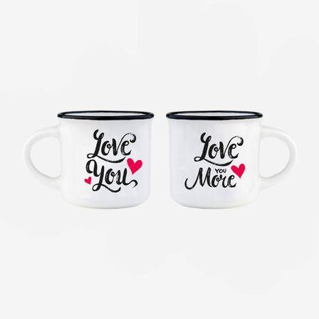 LEGAMI - Legami Espresso For Two - Coffee Mug - Love