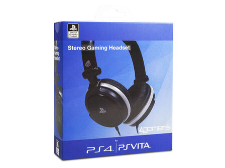 4Gamers - 4Gamers Wired Stereo Gaming Headset Ps4 Vita
