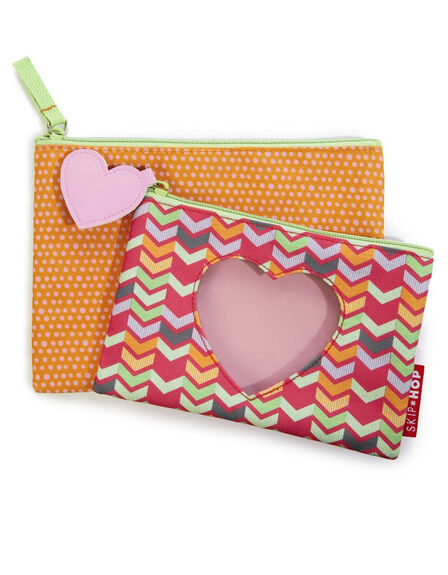 SKIP HOP - Skip Hop Forget Me Not Kid Heart Pencil Case
