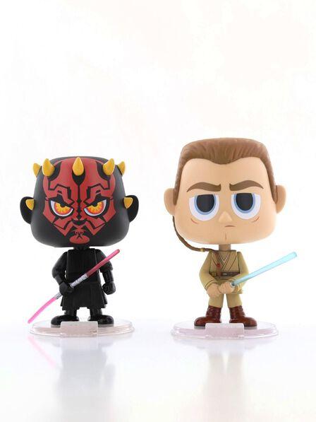 FUNKO TOYS - Funko Pop Star Wars Darth Maul & Obi Wan Vinyl Figures [Set of 2]