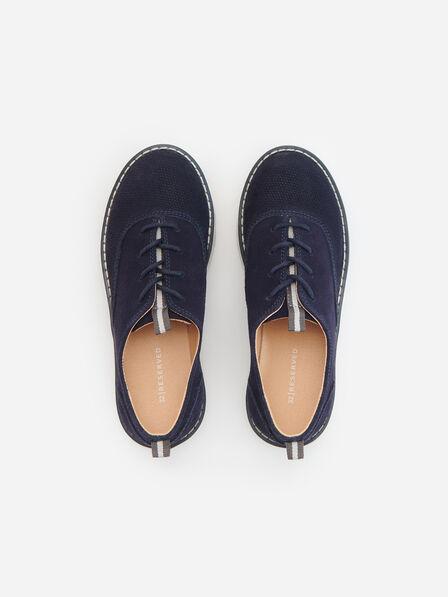 Reserved - Navy Loafer Shoes, Kids Boy