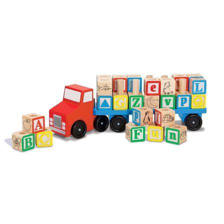MELISSA & DOUG - Melissa & Doug Alphabet Truck