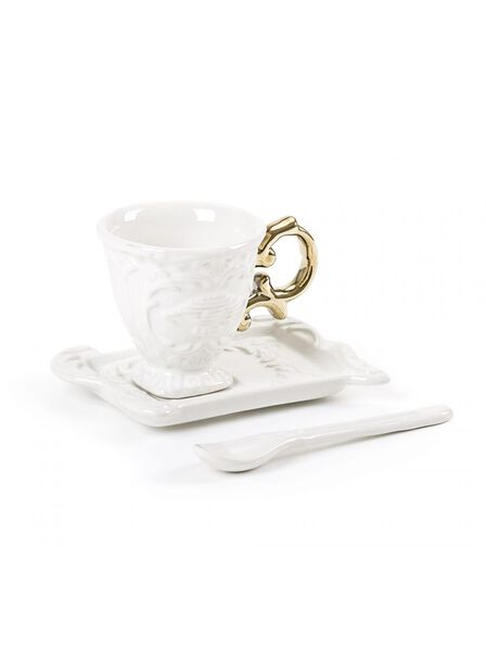 Seletti - I-Wares Coffee Set Gold