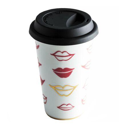 ROSANNA - Rosanna Travel Mug Lips Love