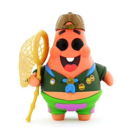 FUNKO TOYS - Funko Pop Animation the Spongebob Movie Patrick Star in Camping Gear Vinyl Figure