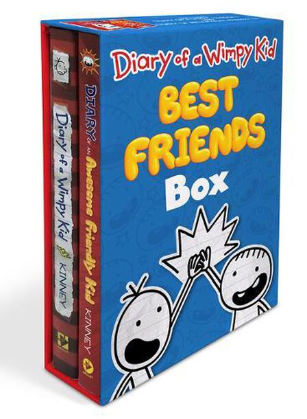 ABRAMS USA - Diary Of A Wimpy Kid Best Friends Box Diary Of A Wimpy Kid / Diary Of An Awesome Friendly Kid