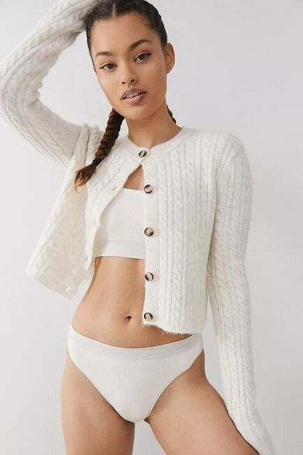 Urban Outfitters - NEUTR Out From Under Markie Seamless Ribbed Knickers