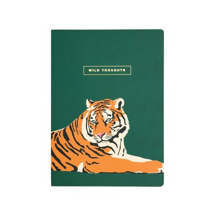 EMILY BROOKS - Emily Brooks B5 Notebook Tiger