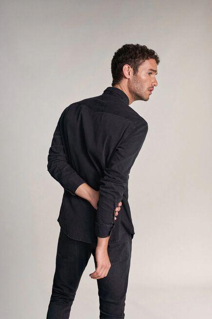 Salsa Jeans - Black Slim fit denim shirt