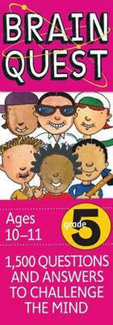 WORKMAN PUBLISHING USA - Brain Quest Grade 5 Revised 4Th Ed
