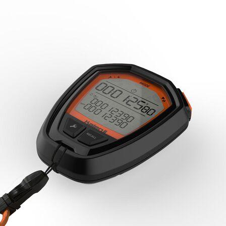 KALENJI - Onstart 310 Stopwatch - Black Orange