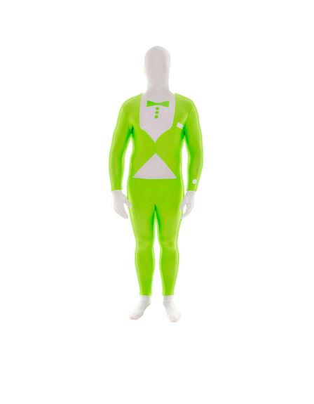 MORPHSUITS - Green Glow Tuxedo Morphsuit