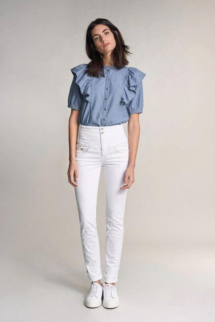 Salsa Jeans - White Diva slim fit slimming jeans