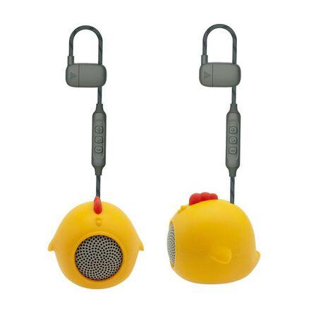 MUVIT - Muvit Chicken Life Anibal Yellow Mini Bluetooth Speaker