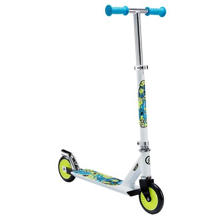 OXELO - Play 3 Kids' Scooter - White/Neon