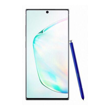 SAMSUNG - Samsung Galaxy Note10+ 5G Smartphone 256 GB/12GB Silver