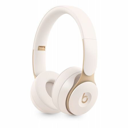 BEATS BY DR. DRE - Beats Solo Pro Ivory Wireless Noise-Cancelling On-Ear Headphones