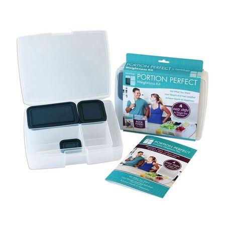 BENTOLOGY - Bentology Portion Perfect Bento Box Clear/Night