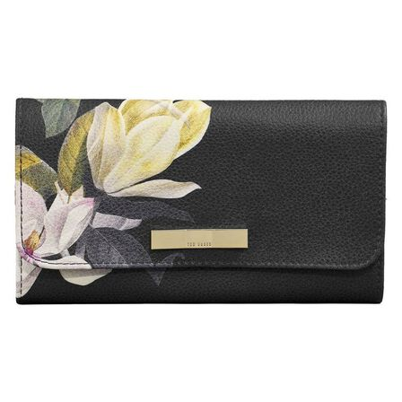 TED BAKER - Ted Baker Women's Jewellery Roll Black Opal