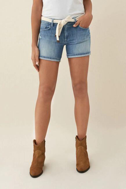 Salsa Jeans - Blue Push Up Wonder shorts in light denim