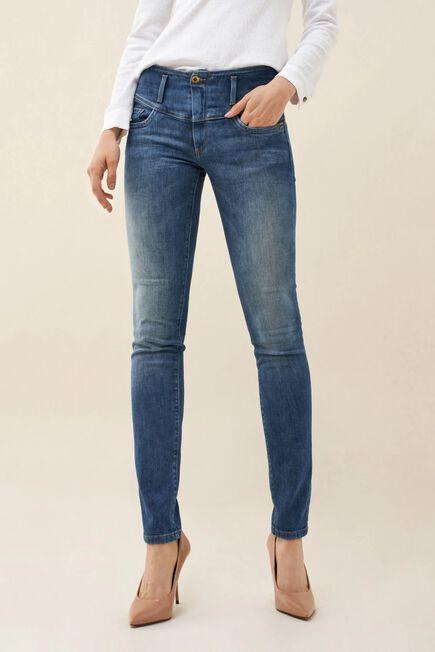 Salsa Jeans - Blue Mystery push up slim jeans