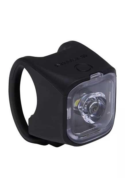 ELOPS - Sl 500 led front / rear usb bike light - black, Unique Size